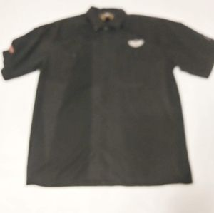 Harley Davidson Button Up Shirt Size Large